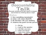 Harrison Bergeron Post Reading Accountable Talk/ Speaking