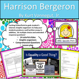 Harrison Bergeron: Reading Comprehension and Text Dependent Analysis Writing