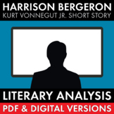 Harrison Bergeron, Literary Analysis + Video Lesson, Kurt Vonnegut Jr., CCSS
