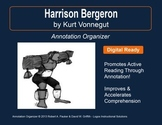"""Harrison Bergeron"" by Kurt Vonnegut, Jr.: Annotation Organizer"