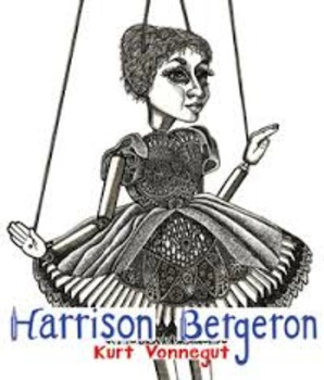 Harrison Bergeron by Kurt Vonnegut Short Story Bundle Common Core Aligned