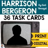 """Harrison Bergeron"" by Kurt Vonnegut Task Cards"