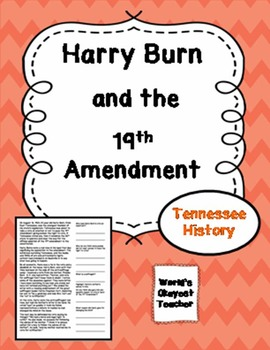 Harry Burn and the 19th Amendment