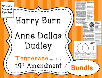 Harry Burns and Anne Dallas Dudley Bundle