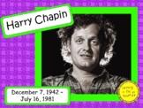 Harry Chapin: Musician in the Spotlight