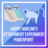 Harry Harlow's Attachment Experiment PPT