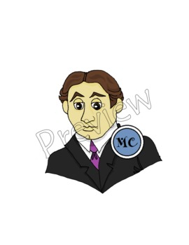Harry Houdini Clip Art
