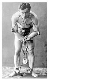 Harry Houdini Picture Puzzle