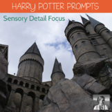 10 Harry Potter Creative Writing Printables with a focus on Sensory Details