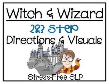 Witch & Wizard 2&3 Step Directions