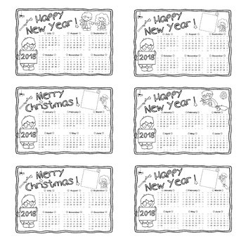 Harry Potter DIY - 2018 coloring calendars – Happy new year !