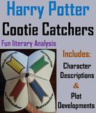 Harry Potter Novel Study (Scoot Unit Review Game)