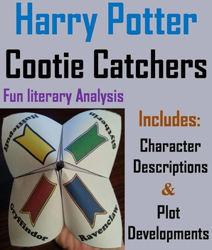 Harry Potter Novel Study (Scoot Unit Review Game)