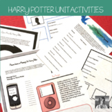Harry Potter: 9 No-Prep ELA Activities Perfect for any Har