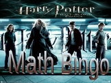 Harry Potter Algebra Bingo