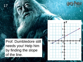 Harry Potter Algebra Bingo