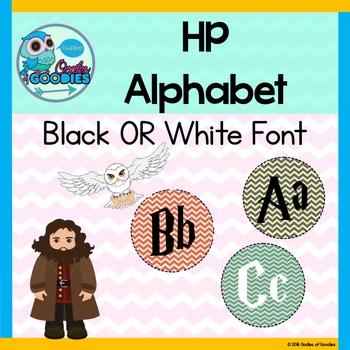 Harry Potter Alphabet Circles