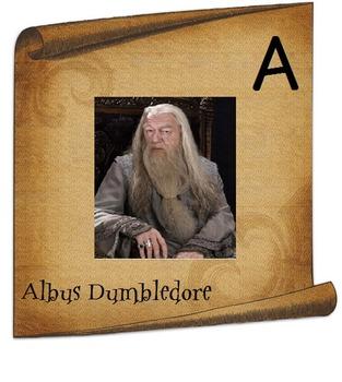 Harry Potter Alphabet Signs