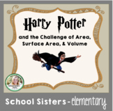 Area, Surface Area, & Volume - Harry Potter Themed