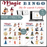 WIZARD BINGO - 32 boards, flashcards, slideshow, checklist