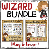 Harry Potter BINGO & GUESS WHO / WHO's WHO games - BUNDLE #4