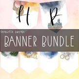 Harry Potter Banner Bundle by Taracotta Sunrise