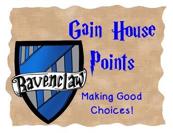 Harry Potter Behavior Clip Chart