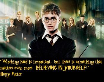 "Harry Potter ""Believe"" Poster"