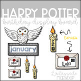 Harry Potter Birthday Display Board