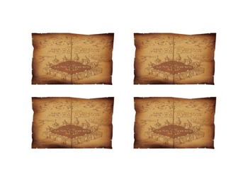 Harry Potter Blank Classroom Labels (Marauder's Map)