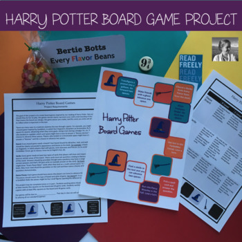 Harry Potter Board Game Final Project