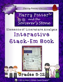 Harry Potter Book I: The Sorcerer's Stone Interactive Stack-Em Book