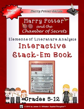 Harry Potter Book II: The Chamber of Secrets Interactive Stack-Em Book