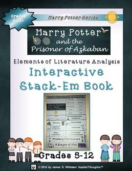 Harry Potter Book III: The Prisoner of Azkaban Interactive Stack-Em Book