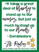 Harry Potter Book Quotes Freebie