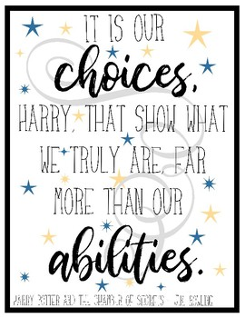 Harry Potter Book Quotes Posters