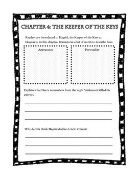 Harry Potter Booklet for Read Alouds or Guided Reading