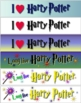 Harry Potter Bookmarks - FREE
