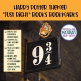 """Harry Potter Bookmarks for Choosing """"Just Right"""" Books"""