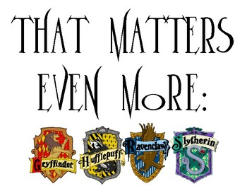 Harry Potter Bulletin Board