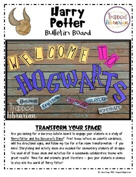 Harry Potter Bulletin Board & Activity Kit