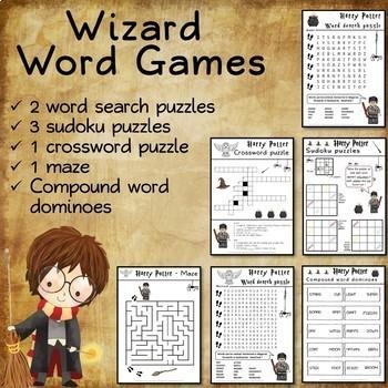 Harry Potter games and activities - BUNDLE #1