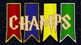 Harry Potter CHAMPS Clip Chart