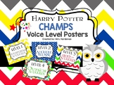 Harry Potter CHAMPS Voice Level Posters