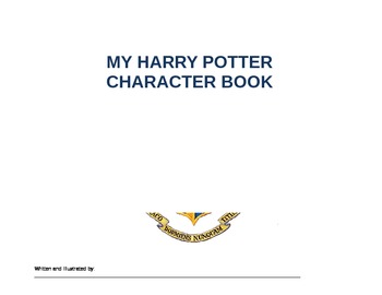 Harry Potter Character Book