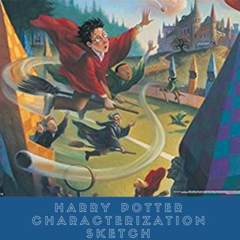 Harry Potter Characterization Sketch