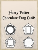 Harry Potter Chocolate Frog Cards