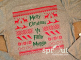 Harry Potter Christmas Tunic 'Sweater'-Actual Shirt!