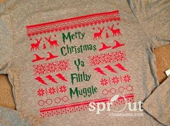 Harry Potter Christmas Tunic 'Sweater'-Actual Shirt!