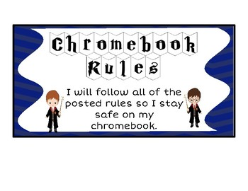 Rules For Chromebook & Worksheets | Teachers Pay Teachers